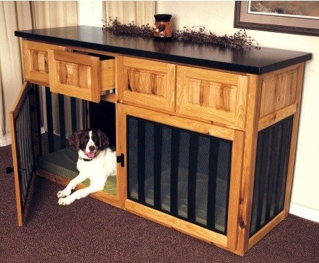 Designer Dog Crates Furniture 2