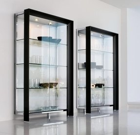 wall display cabinet glass ebay bhp