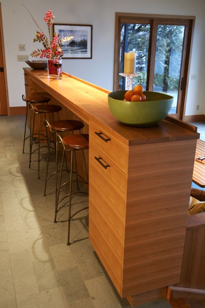 Attirant Breakfast Bar With Storage   Ideas On Foter