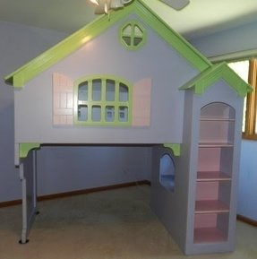 Doll house beds