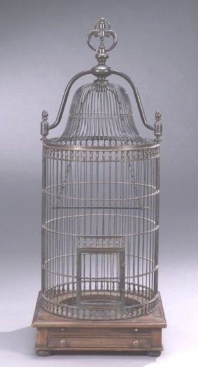 Dome top bird cage 16
