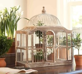 Dome top bird cage 38