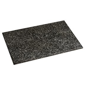 Extra large new rectangular black quality granite chopping board worktop