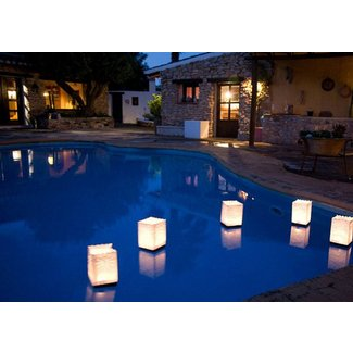 Floating Pool Lletters & Lights Decorations for Party - Ideas on Foter