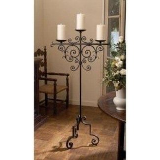 Floor candle stand