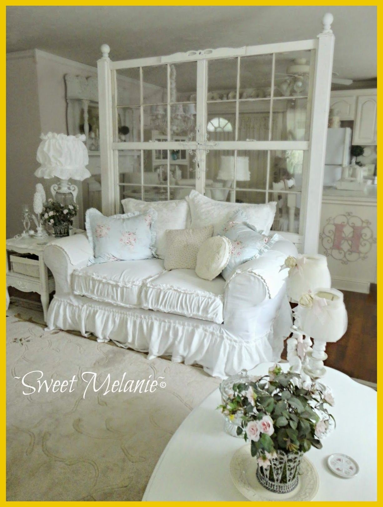French Country Sofa Slipcovers