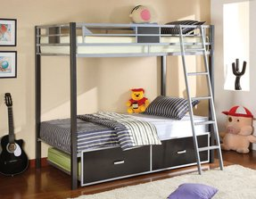 Loft Bed With Bed Underneath Foter