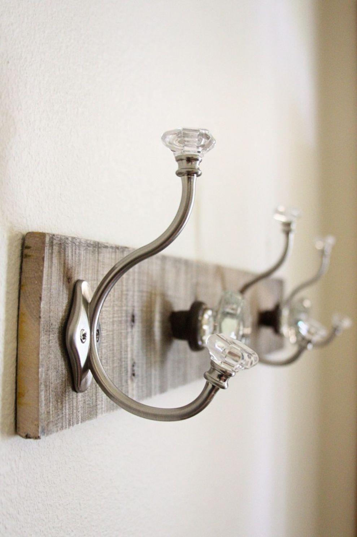 Perfect Glass Door Knob Wall Hooks