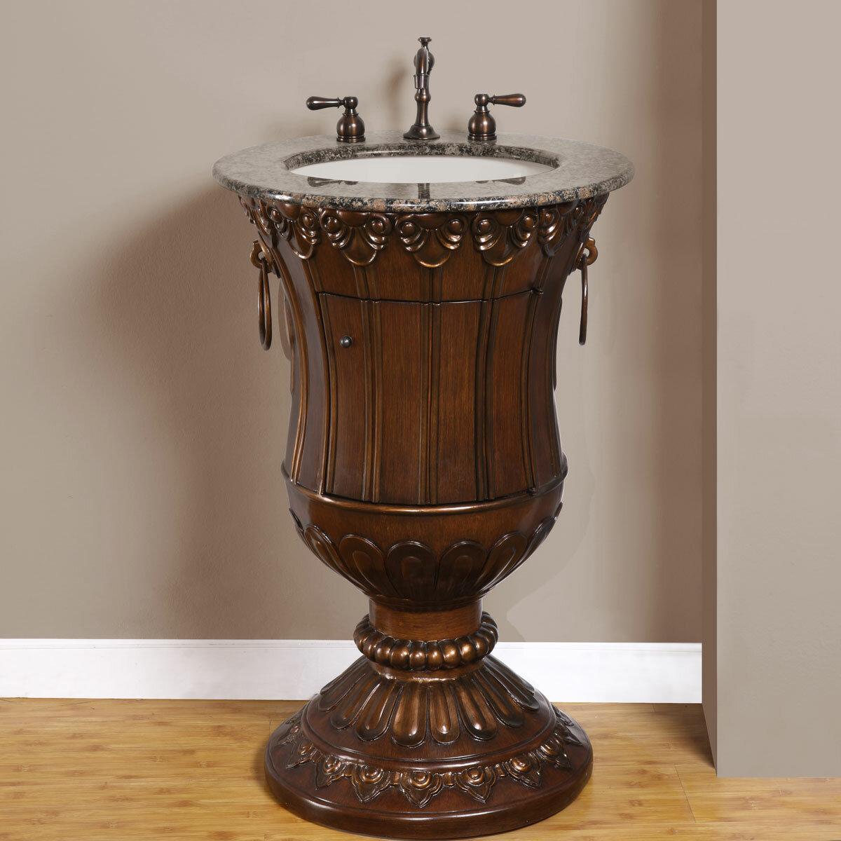Granite Pedestal Sink 24