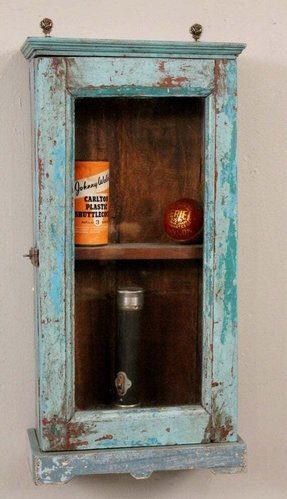 hanging curio cabinets - foter