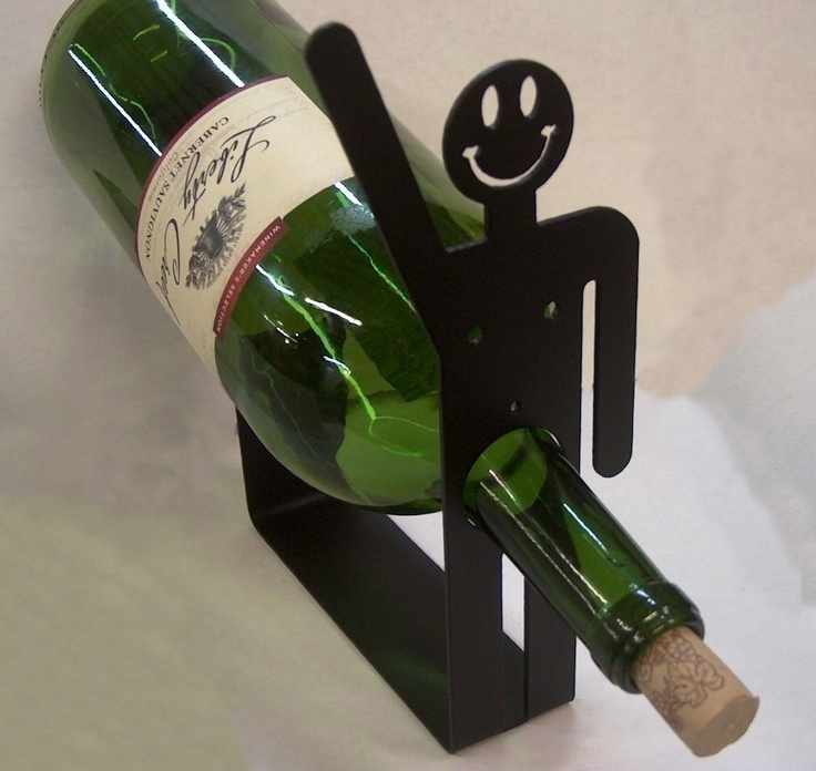 Happy guy wine holder rack
