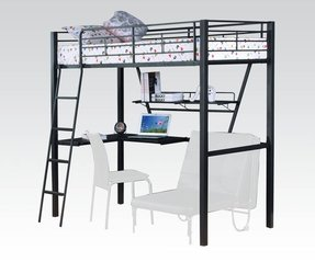 Loft Beds With Desk And Futon Ideas