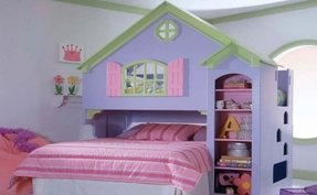 How to make a bunk bed for dolls