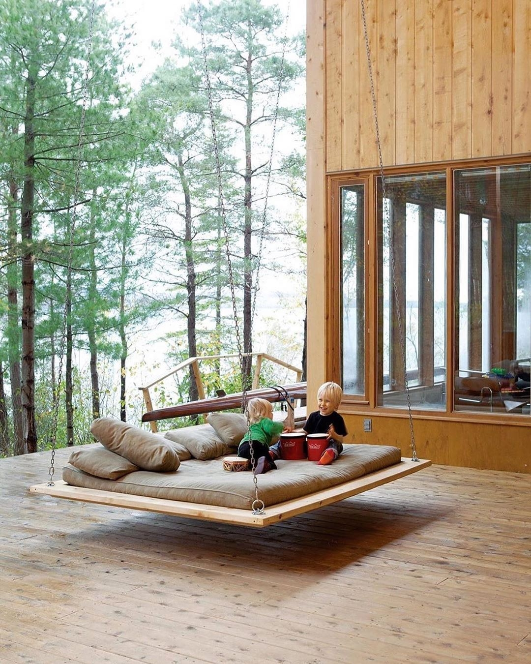 Beau Indoor Porch Swing 1