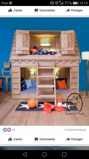 Indoor Wooden Playhouse - Foter