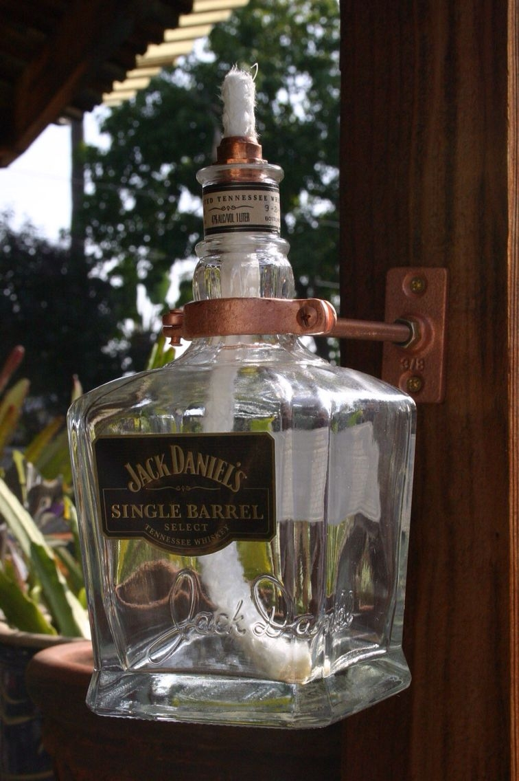 Jack daniels single barrel tiki torch