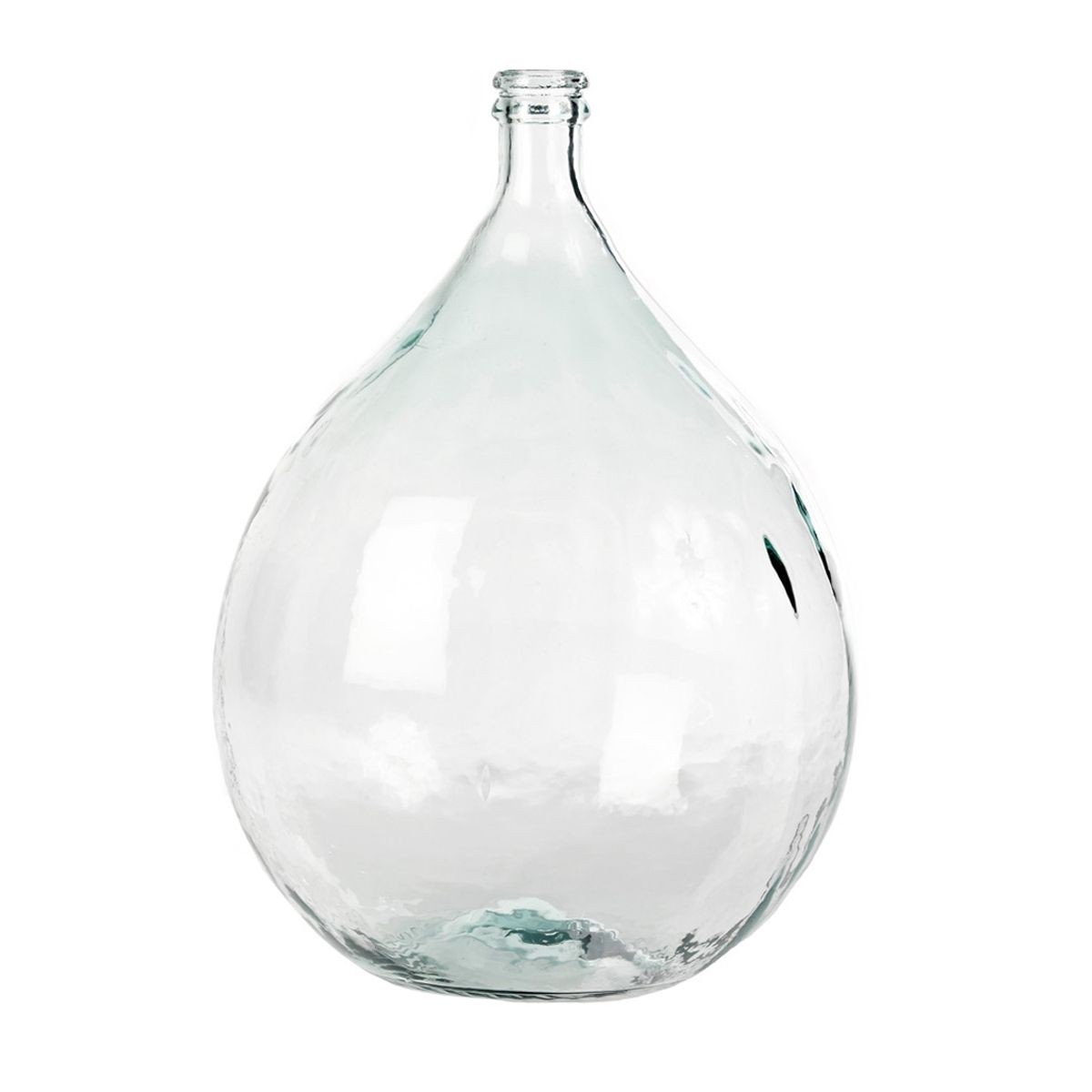 Large floor vases clear glass