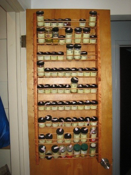 Large Wall Spice Rack 2