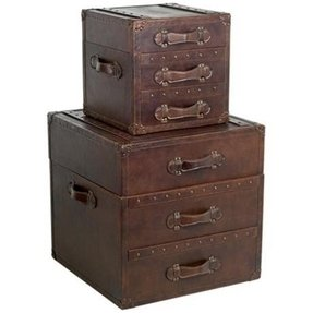 Leather Trunk End Table Ideas On Foter