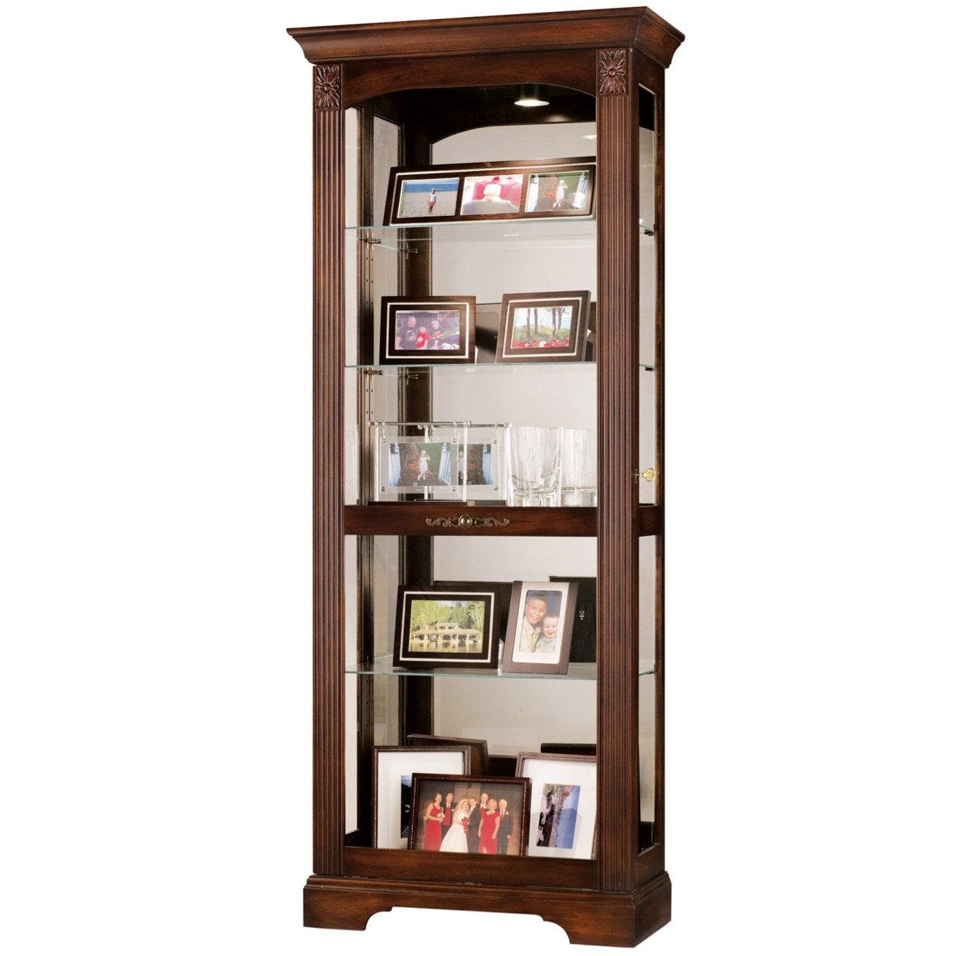 Beau Locking Corner Cabinet