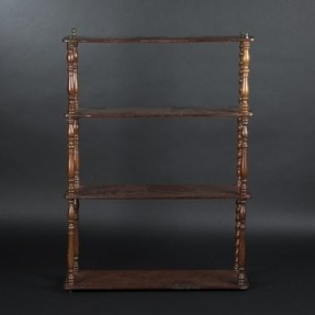 Mahogany wall shelf 7