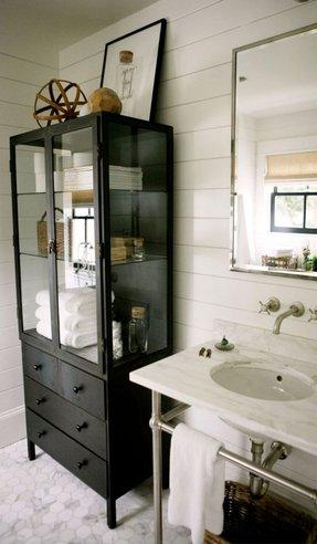 Metal Linen Cabinet 5