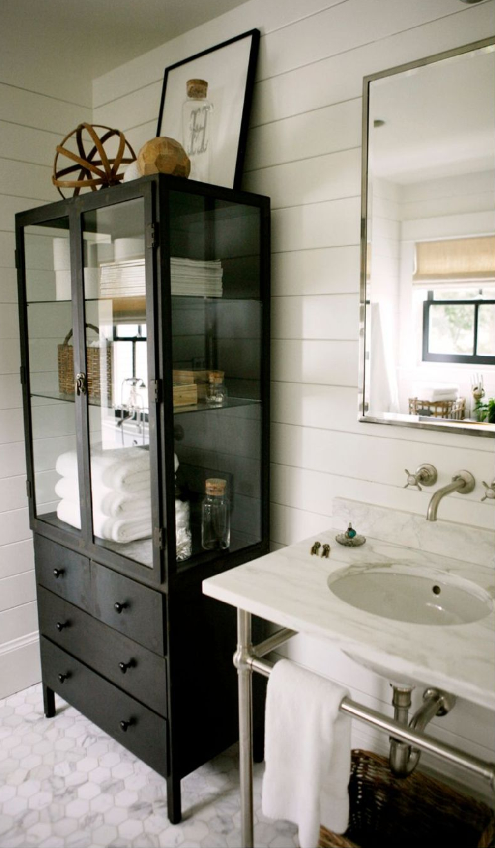 Bon Metal Linen Cabinet 5