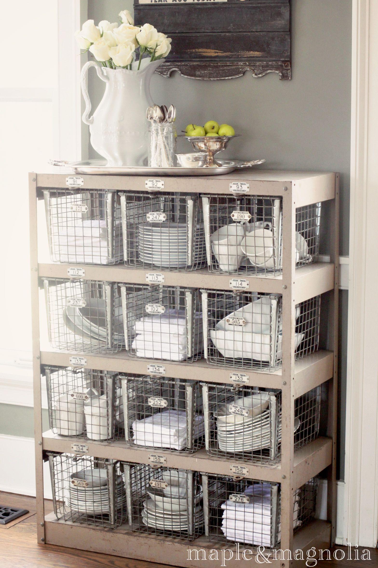 Metal Linen Cabinet 8