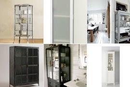 Metal Linen Cabinet