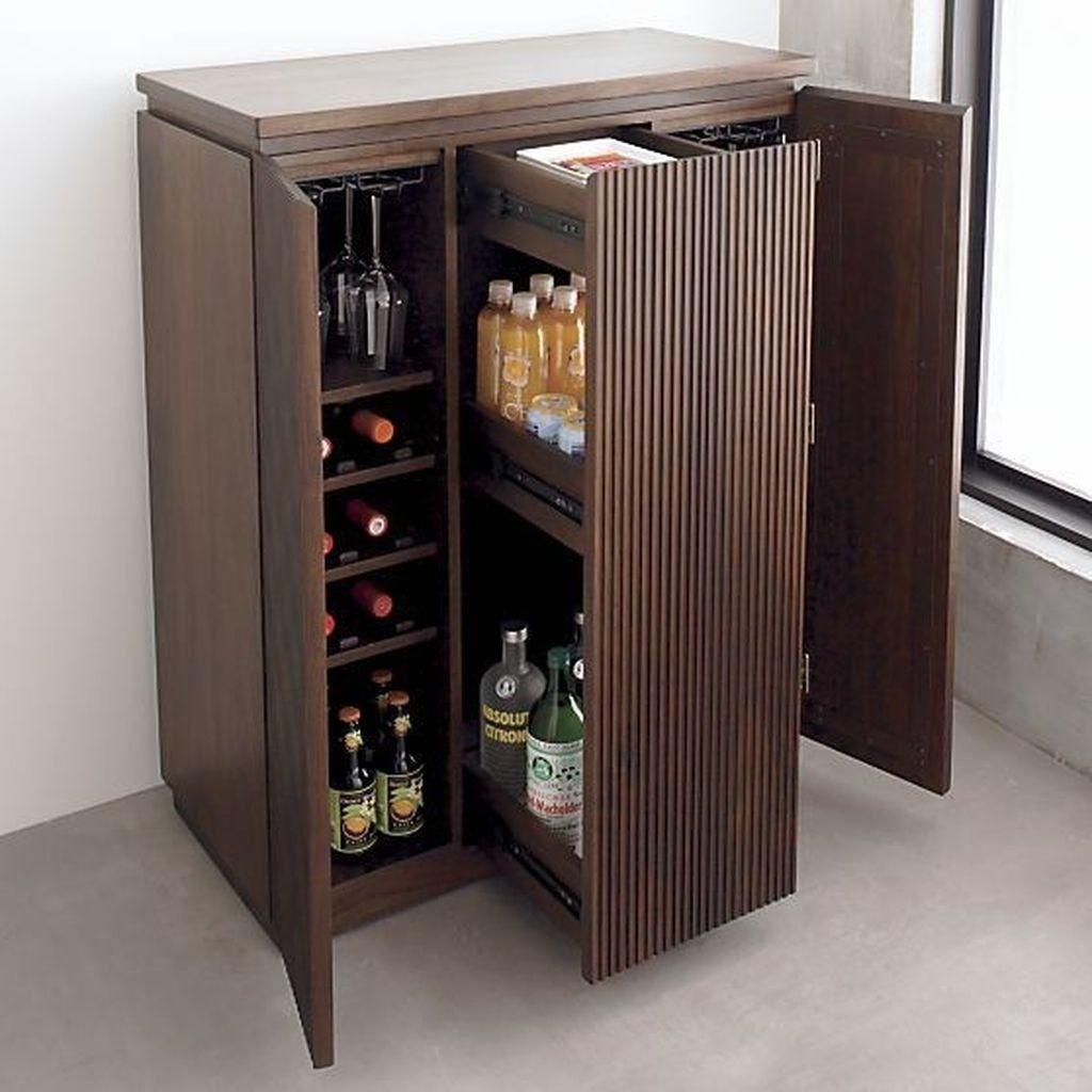 Mini Liquor Cabinet