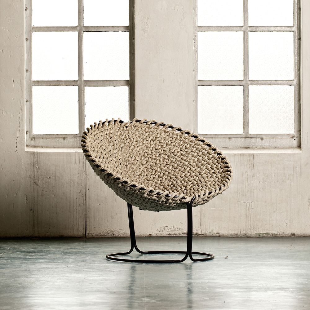 Modern Papasan Chair 3