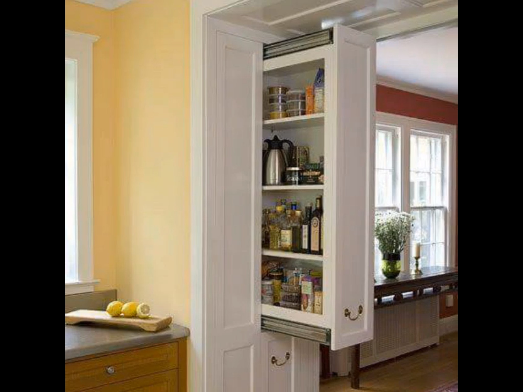 Exceptionnel Narrow Pantry Cabinet