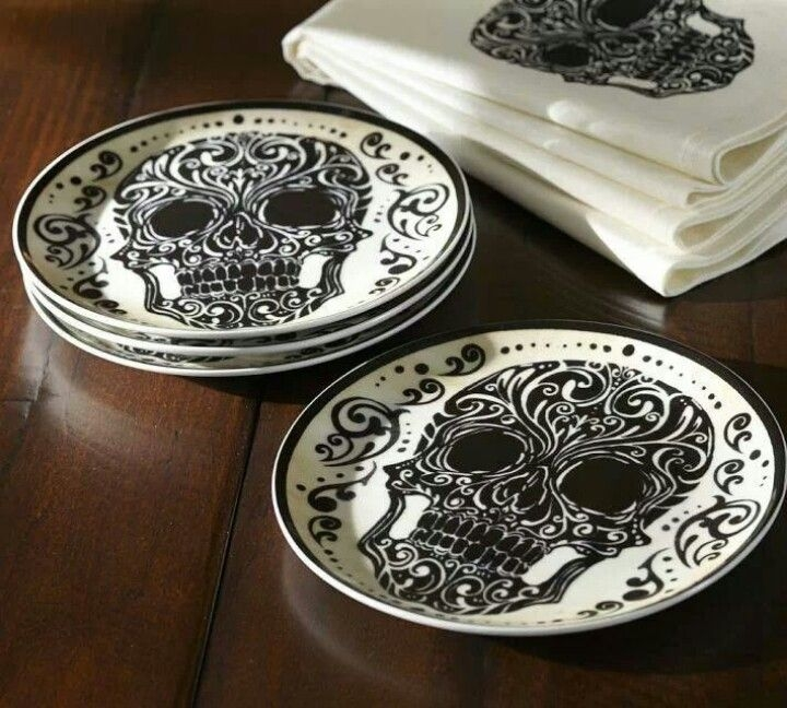 Nightmare before christmas plates & Set Of 4 Decorative Plates - Foter