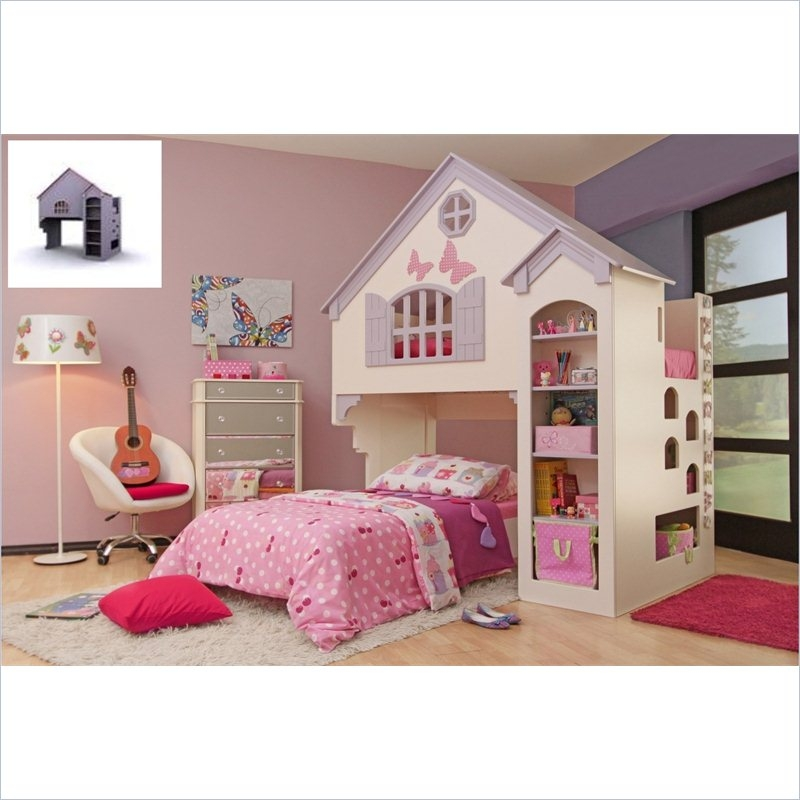 Oeko Furniture Amberly Dollhouse Bed