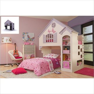 Oeko furniture amberly dollhouse bed 1