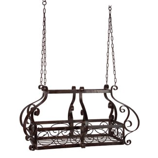 Wrought Iron Hanging Pot Rack Ideas
