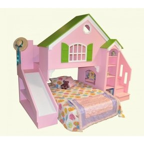 Olivia dollhouse bed