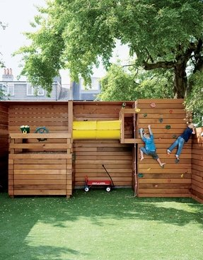 Outdoor playhouse for older kids