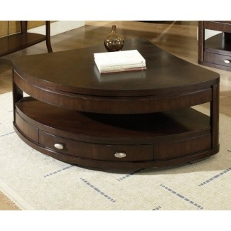 Incroyable Pie Shaped Lift Top Coffee Table 3