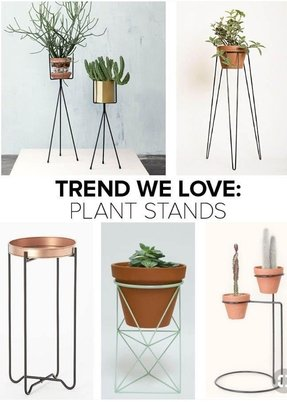 Plant stand metal 1