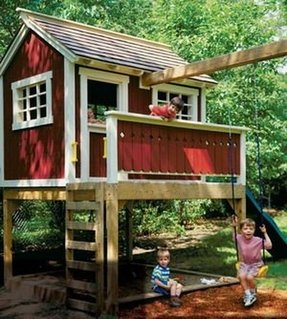 Playhouse for backyard