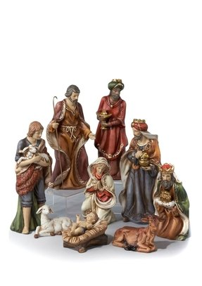 Porcelain nativity scene 1