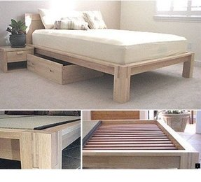 Queen bed support slats 1