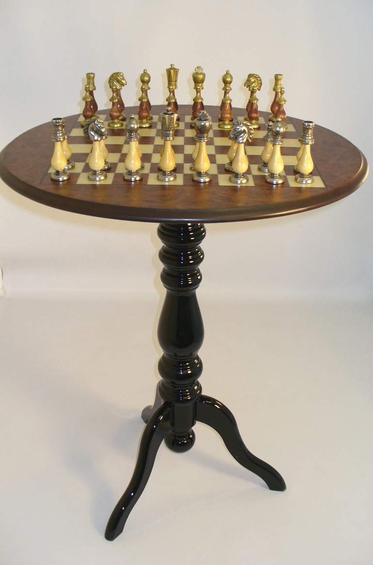Perfect Round Chess Table 5
