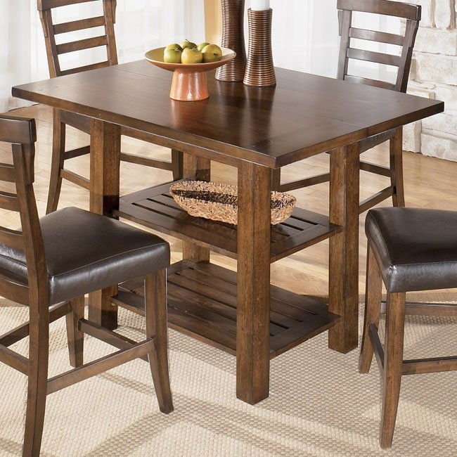 Rustic Counter Height Dining Table