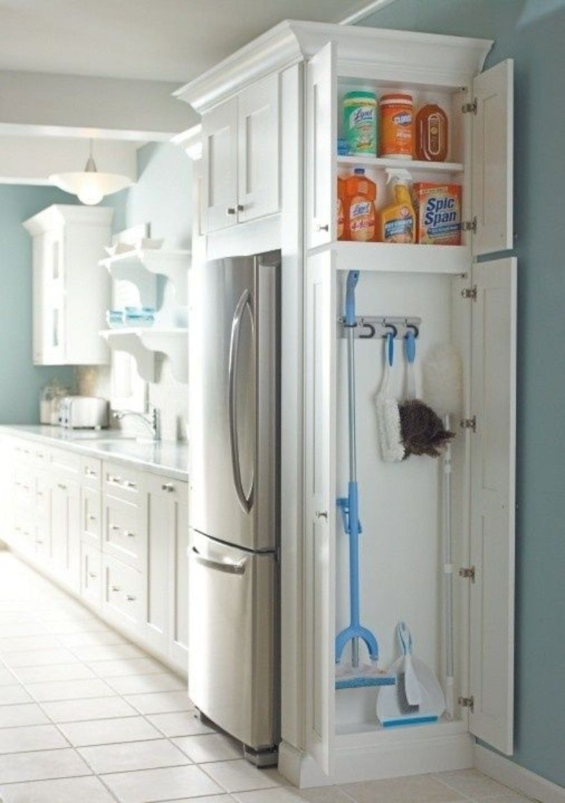Genial Slim Pantry Cabinet 1