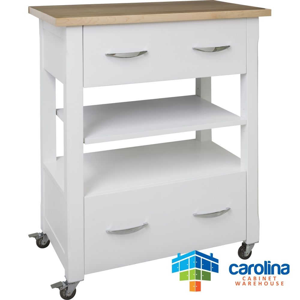 Beau Small Kitchen Cart With Drawers 3