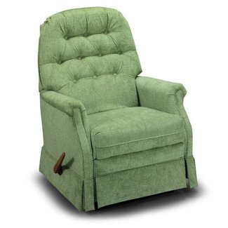 Small swivel rocker recliner