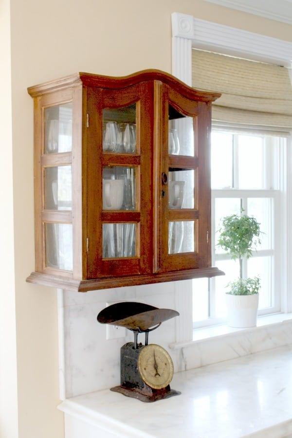 Small Wall Curio Cabinet