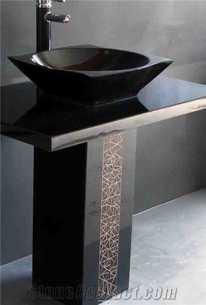 Stone Pedestal Sinks